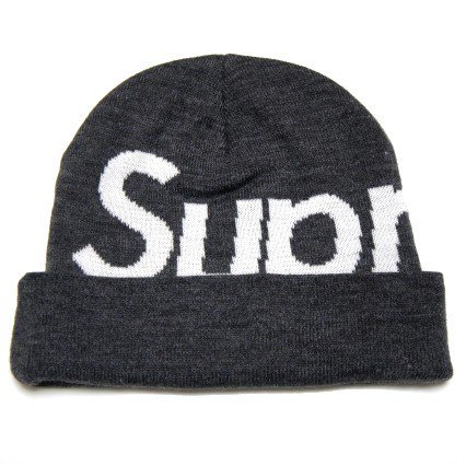 Supreme Big Logo Beanie<img class='new_mark_img2' src='https://img.shop-pro.jp/img/new/icons47.gif' style='border:none;display:inline;margin:0px;padding:0px;width:auto;' />
