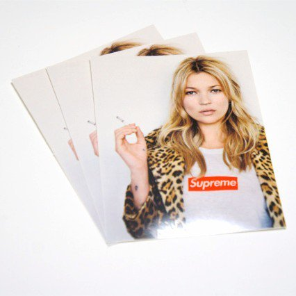 Supreme Kate Moss Tee Sticker ステッカー3枚