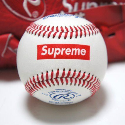 Supreme Rawlings Baseball<img class='new_mark_img2' src='https://img.shop-pro.jp/img/new/icons47.gif' style='border:none;display:inline;margin:0px;padding:0px;width:auto;' />