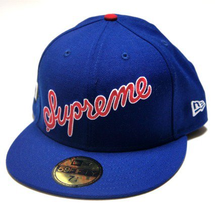 Supreme Script New Era Cap<img class='new_mark_img2' src='//img.shop-pro.jp/img/new/icons47.gif' style='border:none;display:inline;margin:0px;padding:0px;width:auto;' />