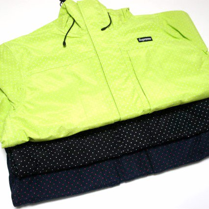 Supreme PIN DOT Shell Jacket<img class='new_mark_img2' src='https://img.shop-pro.jp/img/new/icons47.gif' style='border:none;display:inline;margin:0px;padding:0px;width:auto;' />
