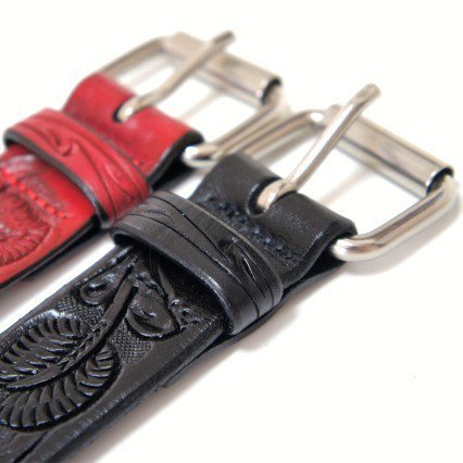 Supreme Rose Leather Belt