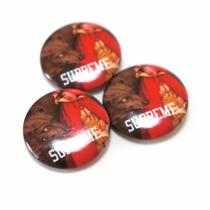 Supreme Red Riding Hood PIN<img class='new_mark_img2' src='https://img.shop-pro.jp/img/new/icons15.gif' style='border:none;display:inline;margin:0px;padding:0px;width:auto;' />