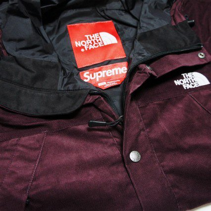 Supreme x The North Face Corduroy Mountain Shell JKT<img class='new_mark_img2' src='https://img.shop-pro.jp/img/new/icons47.gif' style='border:none;display:inline;margin:0px;padding:0px;width:auto;' />