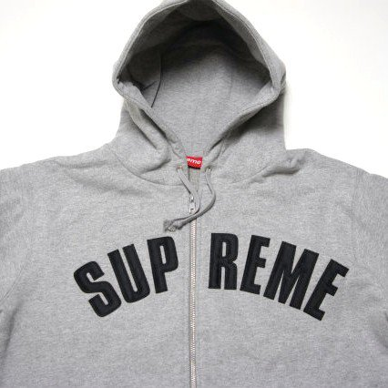 Supreme Arc Logo Thermal Zip Up Hoodie<img class='new_mark_img2' src='//img.shop-pro.jp/img/new/icons47.gif' style='border:none;display:inline;margin:0px;padding:0px;width:auto;' />
