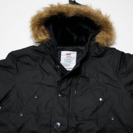 Supreme Waxed Cotton N-3B JKT<img class='new_mark_img2' src='https://img.shop-pro.jp/img/new/icons47.gif' style='border:none;display:inline;margin:0px;padding:0px;width:auto;' />