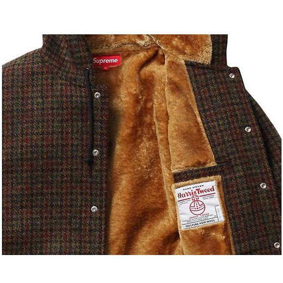 Supreme Harris Tweed Hooded Coach Jacket<img class='new_mark_img2' src='//img.shop-pro.jp/img/new/icons47.gif' style='border:none;display:inline;margin:0px;padding:0px;width:auto;' />