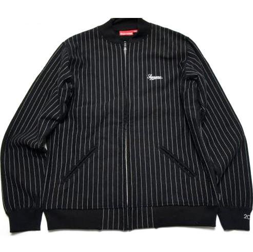 <img class='new_mark_img1' src='https://img.shop-pro.jp/img/new/icons47.gif' style='border:none;display:inline;margin:0px;padding:0px;width:auto;' />Supreme Stripe Front Zip Sweater