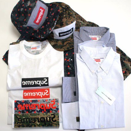 COMME des GARCONS SHIRT Supreme Box Logo Camp Cap