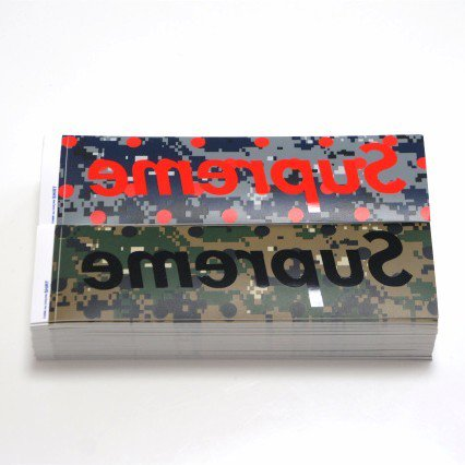 COMME des GARCONS SHIRT Supreme Box Logo Sticker