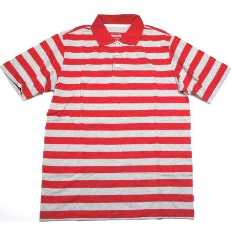 Supreme Stripe Polo<img class='new_mark_img2' src='https://img.shop-pro.jp/img/new/icons47.gif' style='border:none;display:inline;margin:0px;padding:0px;width:auto;' />