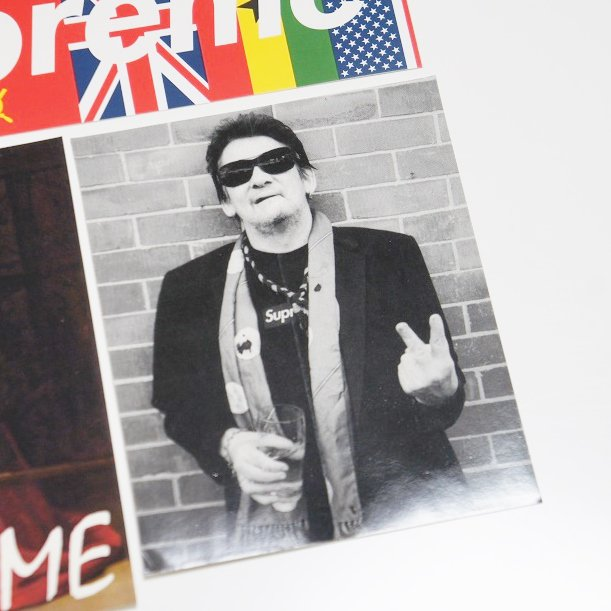 Supreme Shane Macgowan Sticker