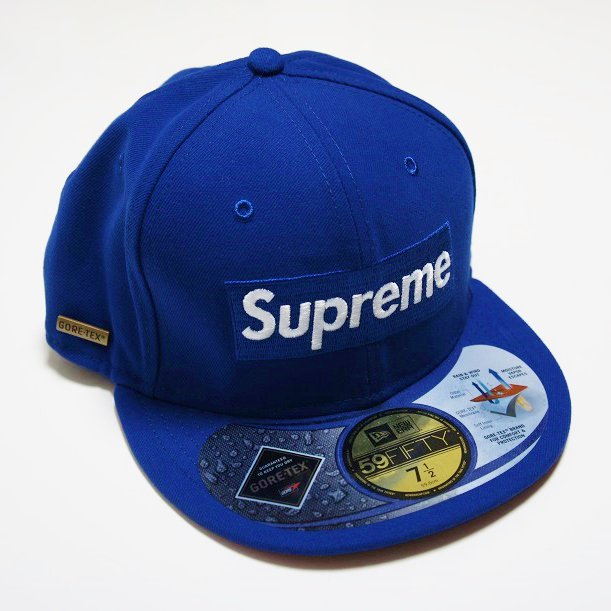 Supreme Gore-Tex Box Logo New Era Cap<img class='new_mark_img2' src='//img.shop-pro.jp/img/new/icons47.gif' style='border:none;display:inline;margin:0px;padding:0px;width:auto;' />