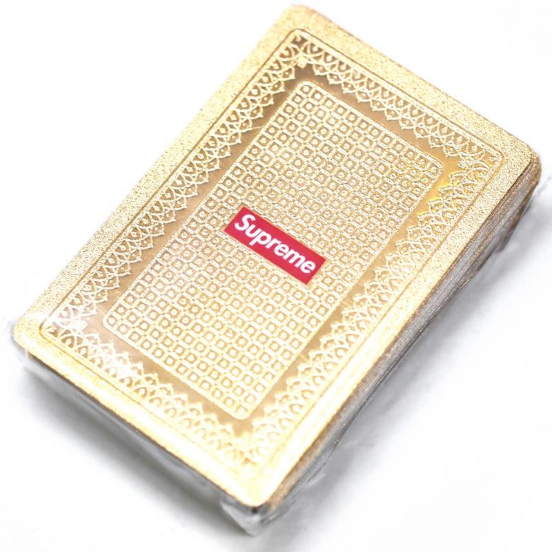 Supreme Gold Deck of Cards<img class='new_mark_img2' src='https://img.shop-pro.jp/img/new/icons47.gif' style='border:none;display:inline;margin:0px;padding:0px;width:auto;' />