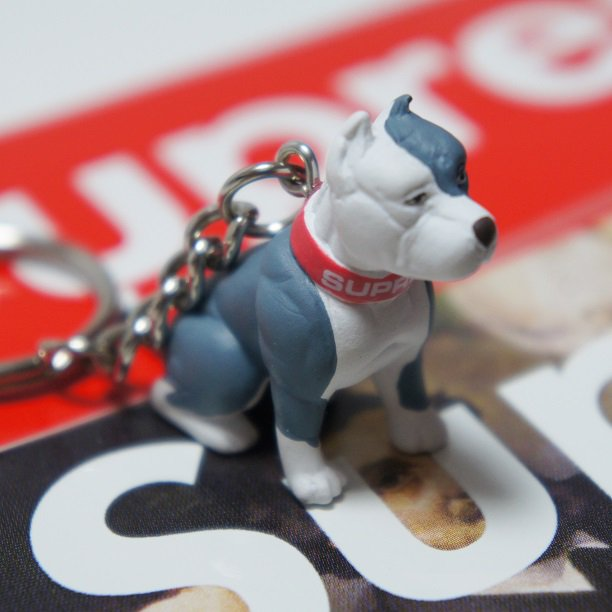 Supreme Pitbull Keychain<img class='new_mark_img2' src='https://img.shop-pro.jp/img/new/icons47.gif' style='border:none;display:inline;margin:0px;padding:0px;width:auto;' />