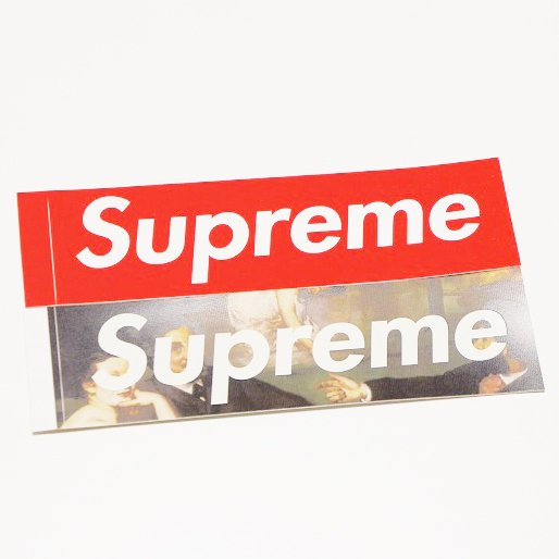 Supreme Box Logo Le Bain Sticker<img class='new_mark_img2' src='https://img.shop-pro.jp/img/new/icons47.gif' style='border:none;display:inline;margin:0px;padding:0px;width:auto;' />