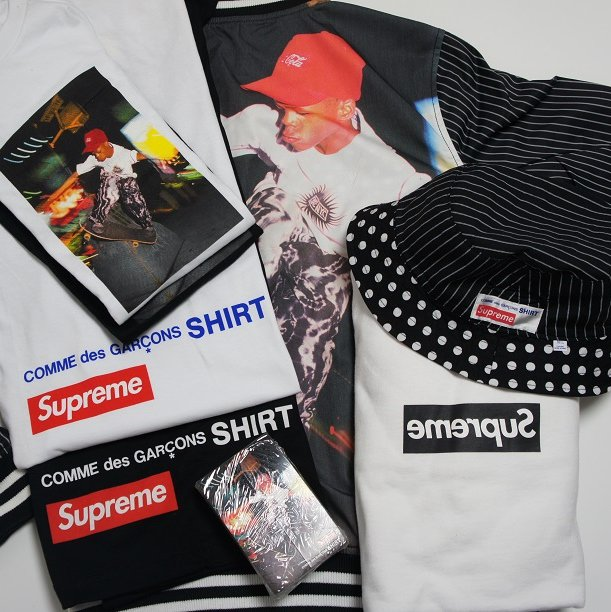 COMME des GARCONS SHIRT Supreme Reversible Jkt<img class='new_mark_img2' src='https://img.shop-pro.jp/img/new/icons47.gif' style='border:none;display:inline;margin:0px;padding:0px;width:auto;' />