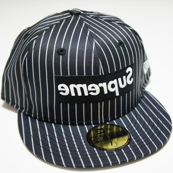 COMME des GARCONS SHIRT Supreme Box Logo New Era Cap<img class='new_mark_img2' src='https://img.shop-pro.jp/img/new/icons47.gif' style='border:none;display:inline;margin:0px;padding:0px;width:auto;' />