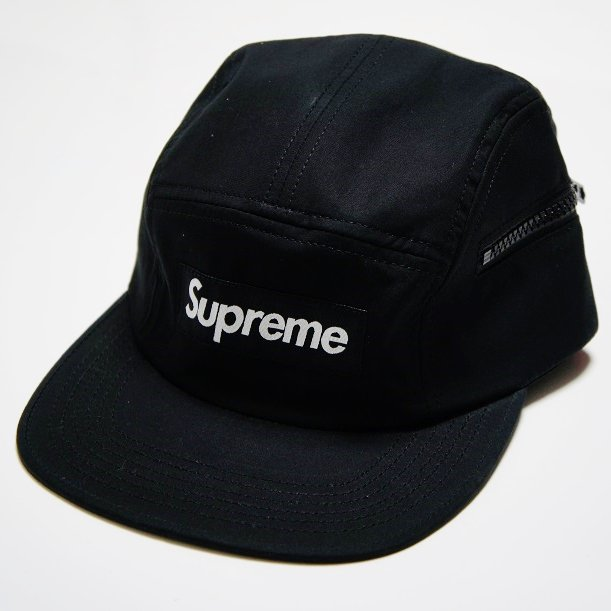 Supreme Box Logo Side Zip Camp Cap