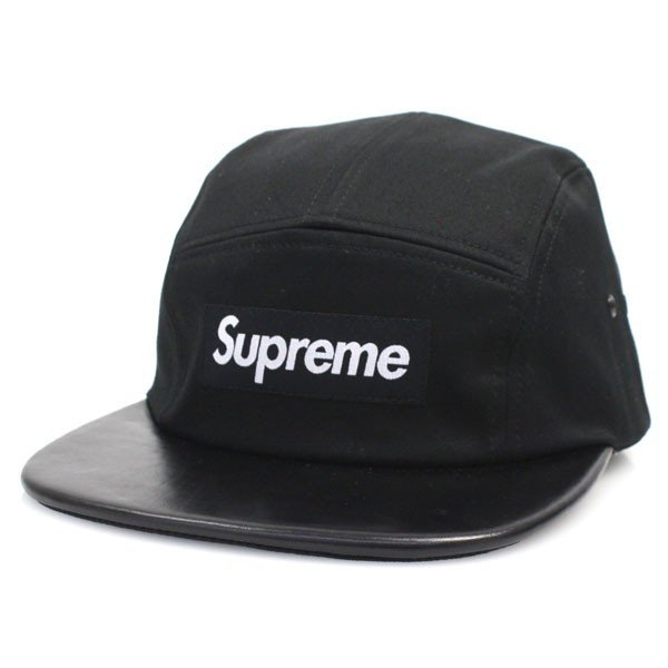 Supreme Box Logo Expedition Leather Visor Camp Cap <img class='new_mark_img2' src='//img.shop-pro.jp/img/new/icons47.gif' style='border:none;display:inline;margin:0px;padding:0px;width:auto;' />