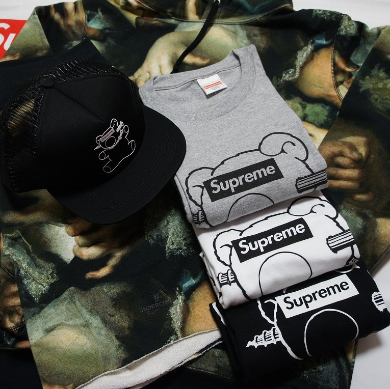 Supreme Undercover Bear Tee<img class='new_mark_img2' src='https://img.shop-pro.jp/img/new/icons47.gif' style='border:none;display:inline;margin:0px;padding:0px;width:auto;' />