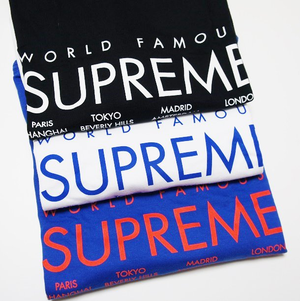 Supreme International Tee<img class='new_mark_img2' src='https://img.shop-pro.jp/img/new/icons47.gif' style='border:none;display:inline;margin:0px;padding:0px;width:auto;' />