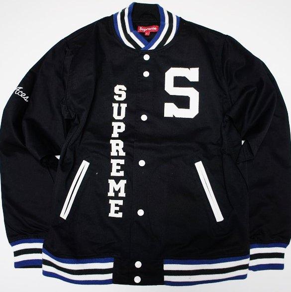 Supreme 2009 S Logo Varsity Jacket <img class='new_mark_img2' src='https://img.shop-pro.jp/img/new/icons47.gif' style='border:none;display:inline;margin:0px;padding:0px;width:auto;' />