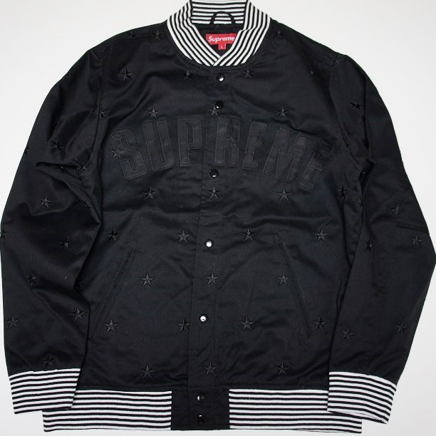 Supreme STARS Varsity Jacket <img class='new_mark_img2' src='//img.shop-pro.jp/img/new/icons47.gif' style='border:none;display:inline;margin:0px;padding:0px;width:auto;' />