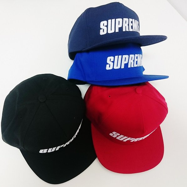 Supreme BAR LOGO 5-PANEL<img class='new_mark_img2' src='//img.shop-pro.jp/img/new/icons47.gif' style='border:none;display:inline;margin:0px;padding:0px;width:auto;' />
