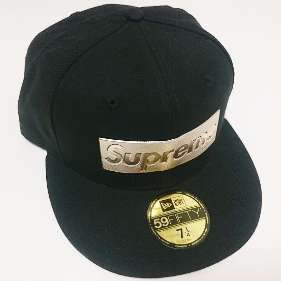 Supreme METALLIC BOX LOGO NEW ERA