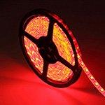 12V Soft LED Light 防水 (5CM / Waterproof / 3 LEDs / Red)