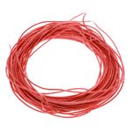 AWG Silicon Wire (10CM / 26# / Red) [03-710]