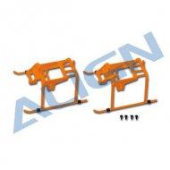 【H15F001XOW】 ランディングスキッド オレンジ Landing Skid 【T-REX150】 (TR )