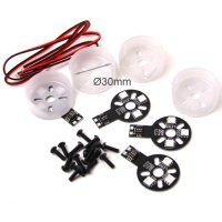 Motor Protector w/ Multi-Color LED for Multirotor (4pcs / 22 Size Motor) [09-151]