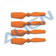 【HQ0233D】 23 テールブレード Tail Blade オレンジ 【T-REX150】 (TR)