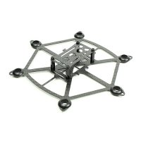 RCX X150 Brushed HexCopter Frame (3K Carbon Fiber) [HEX150-P1]