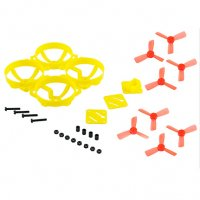 LDARC/KingKong Doinker 80 Brushless Quadcopter Kit (80mm / Yellow / Frame + Props) [KK-DOINKER80-P1]