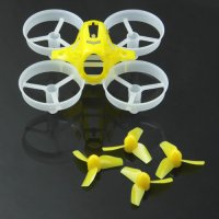 LDARC/KingKong Tiny6 65mm Micro FPV Racing Quacopter Kit (Frame / Props / Yellow) [KK-TINY6-P1-YLW]