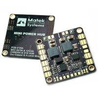 Matek Mini POWER HUB w/ BEC 5V & 12V [MATEK-HUB5V12V]
