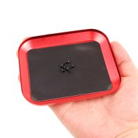 Aluminium Screw Tray w/ Magnetic Pad for RC Hobby (Red)  [09-274]