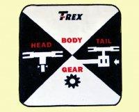 【BA1002】 ハンドタオル 【T-REX】(TR)