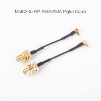 MMCX to RP-SMA-JACK Pigtail Antenna Cable for 5.8G VTX AV Transmitter (1pc)[09-351]