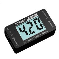 AOKoda AOK-041 1S Lithium Battery Tester Indicator [09-356]