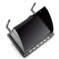 Skyzone HD02 40CH 5.8G 7 Inch 1024x600 HD FPV Monitor HD Port (DVR, Battery) [SKYZONE-SKY-HD02-DVR]