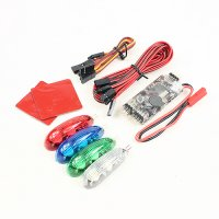 RCX Intelligent Traffic Lights for Plane and Drone (12V / 4 Colors) [09-433]