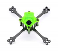RCX X120 FPV Frame w/ TPU Soft Camera Holder for RunCam & Foxeer (Green) [X120-P1]