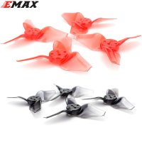 EMAX Avan Micro 2.3inch (2.3x2.7) Propeller (6 Pairs / Clear Red) [EMAX12-024]