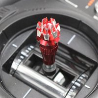 Aluminium Rose Style Control Stick for Transmitter (3.0mm / Rose Red) [09-175]