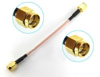 5.8G Antenna Extension Cable (10cm / SMA-JJ)[09-511]