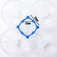 Whoop Frame FC Mount 26mm->20mm コンバーター TPU [VT]